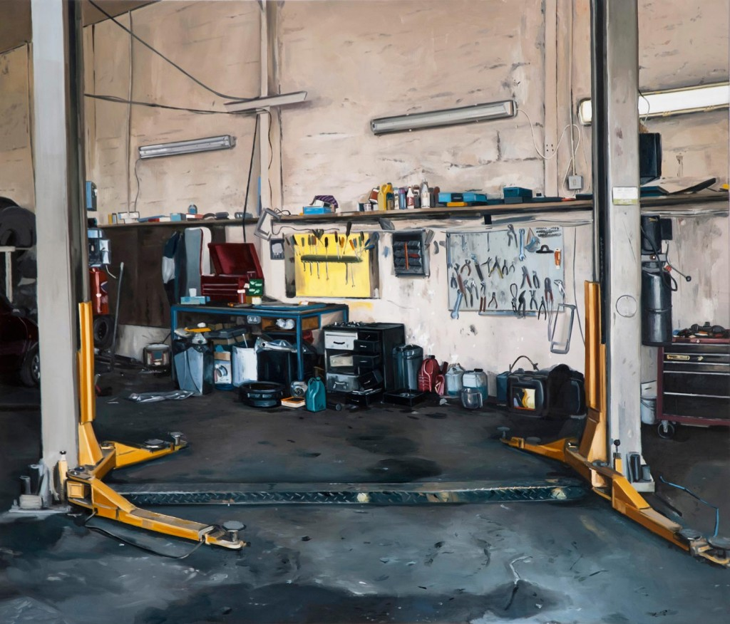 10_Kevin-Cosgrove_Just-the-usual_Workshop-with-hydraulic-lift_copyright-the-artist-and-mothers-tankstation