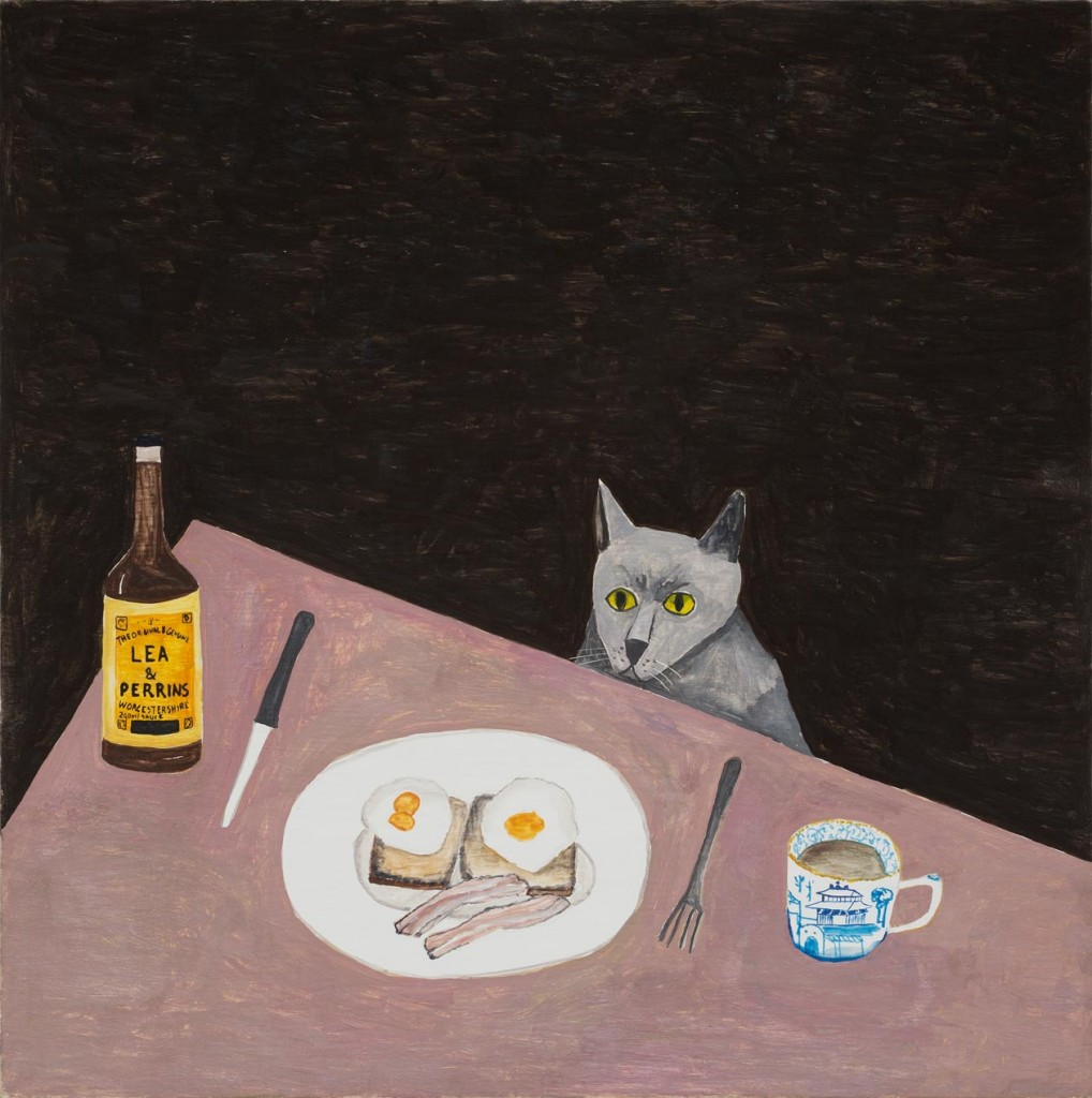 10_Noel-McKenna_Concealing-the-Spot_Cat,-bacon-&-eggs_copyright-the-artist-and-mothers-tankstation