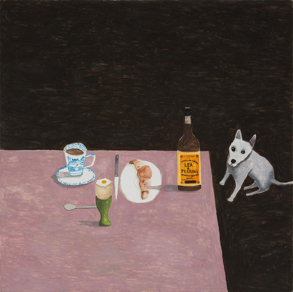 11_Noel-McKenna_Concealing-the-Spot_Breakfast-table-with-dog_copyright-the-artist-and-mothers-tankstation