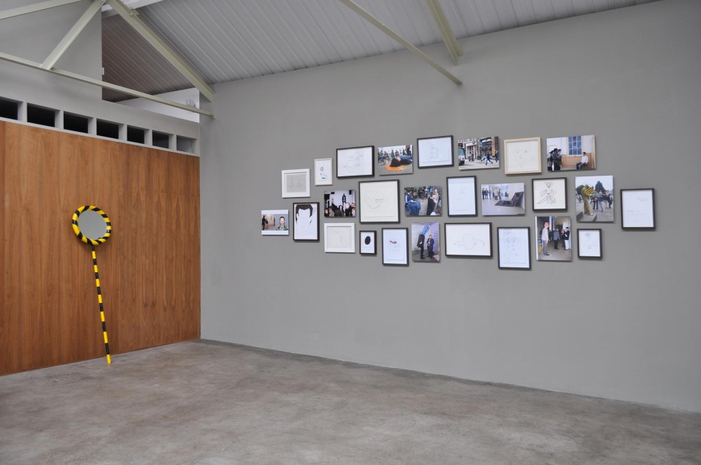 1_David-Sherry_Holding-Phones-Counting-Cars-Flights-of-Geometry_Installation-view_copyright-the-artist-and-mothers-tankstation