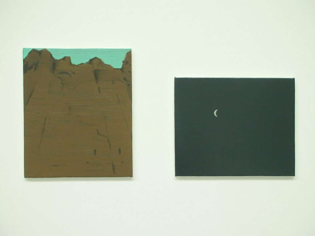 3_Ciaran-Murphy_15-single-word-titled-images_Cliff-and-Moon_Diptych_copyright-the-artist-and-mothers-tankstation