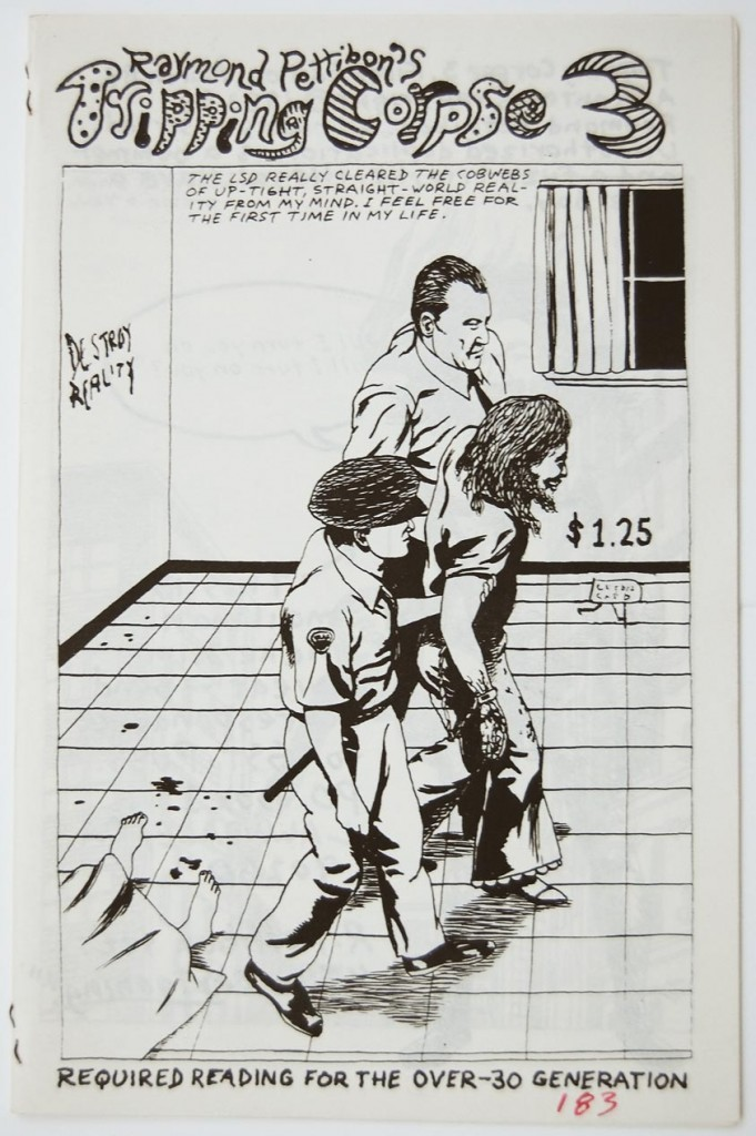 4_Getting-on-mothers-nerves_Raymond-Pettibon-Tripping-Corpse-3-Zine-no_183_copyright-the-artist-and-mothers-tankstation