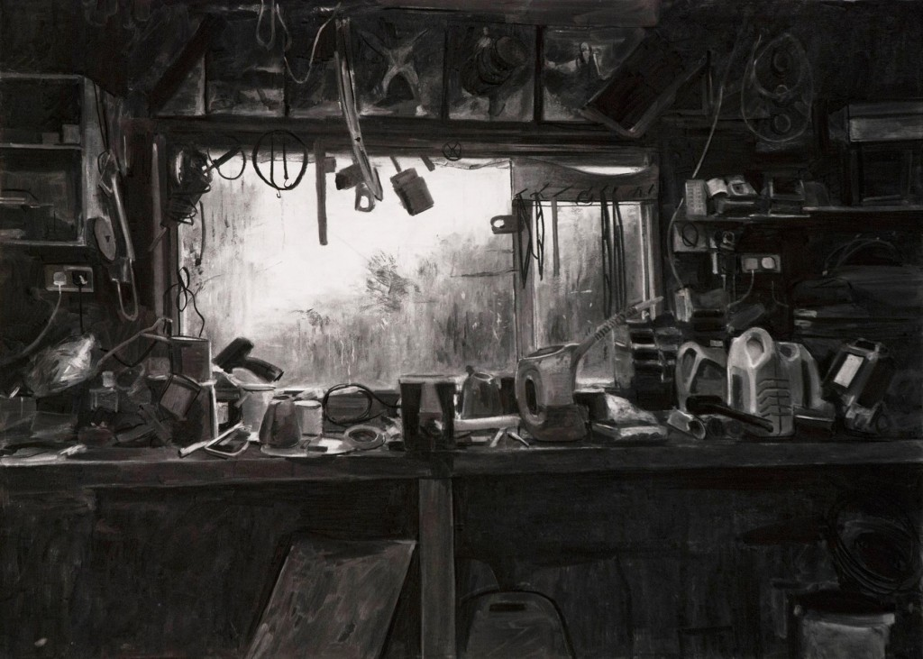 6_Kevin-Cosgrove_Just-the-usual_Charcoal-for-blue-bench_copyright-the-artist-and-mothers-tankstation
