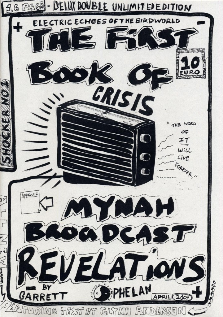7_Garrett-Phelan_The-Last-Broadcast-Revelations_The-First-Book-of-Mynah-Broadcast-Revelations_copyright-the-artist-and-mothers-tankstation