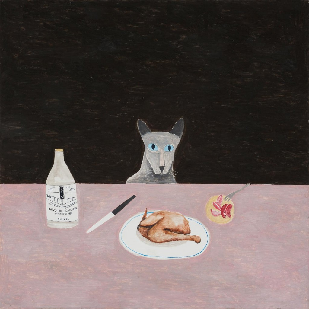 8_Noel-McKenna_Concealing-the-Spot_Cat-at-table_copyright-the-artist-and-mothers-tankstation