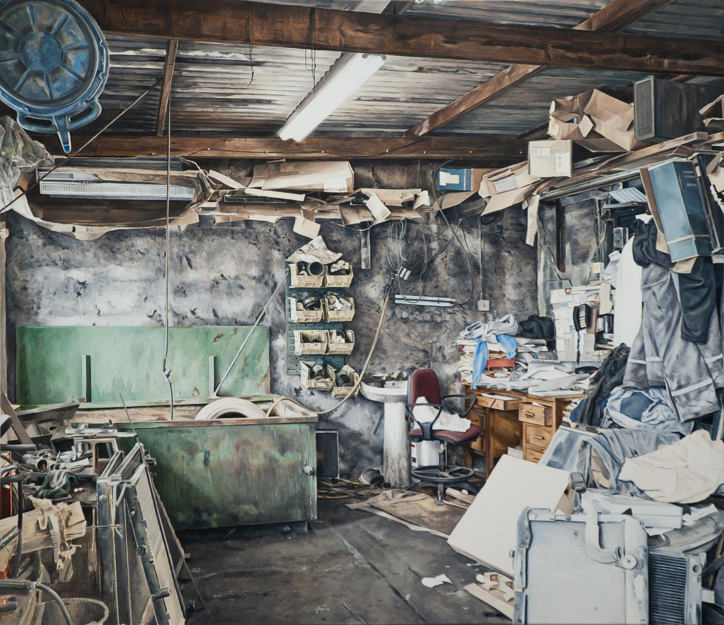 Kevin-Cosgrove_Workshop-With-Desk_copyright_the-artist-and-mother's-tankstation