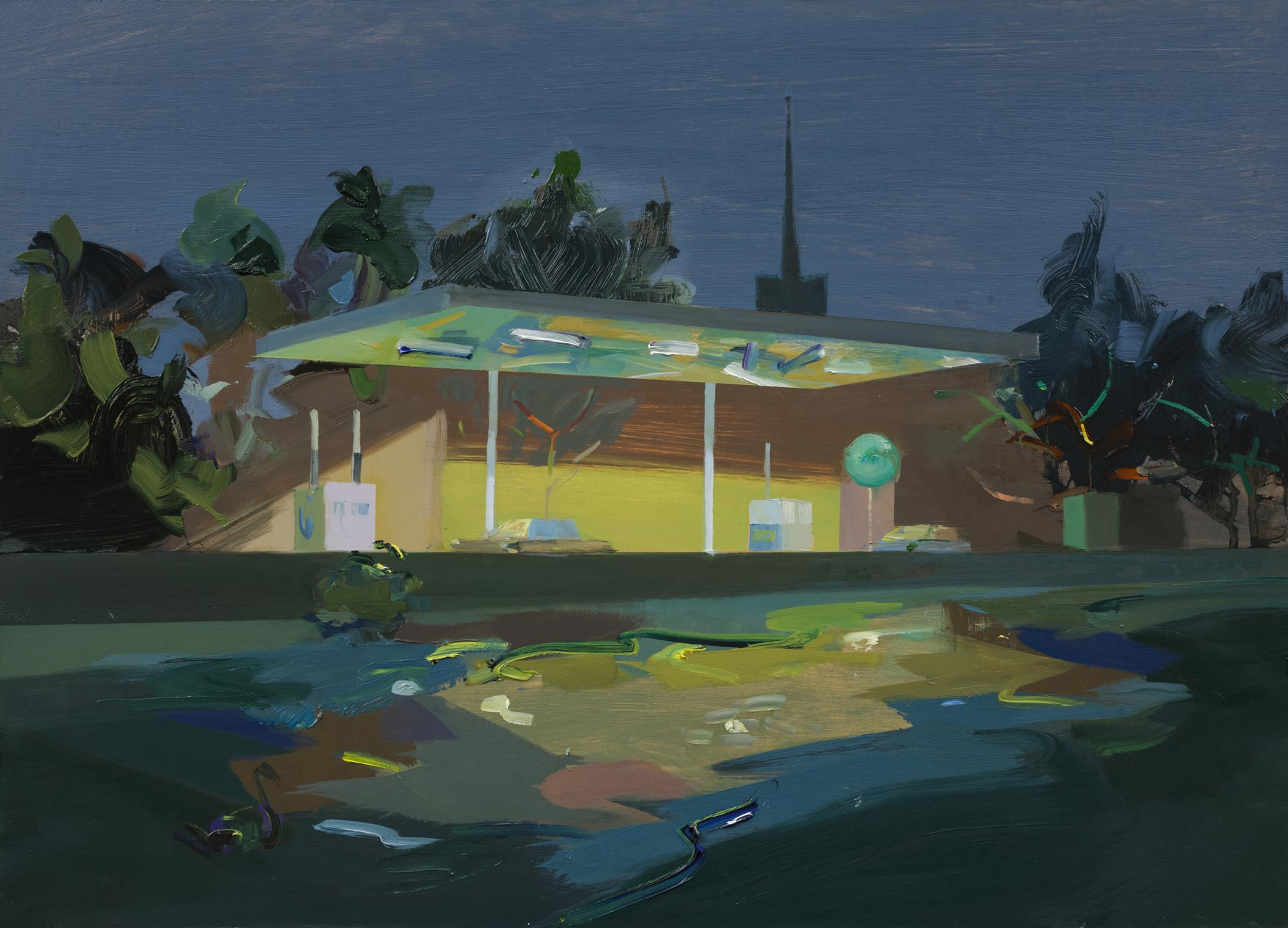 Mairead-O'hEocha_Mespil-Road-Petrol-Station-and-Canal_copyright_the-artist-and-mother's-tankstation