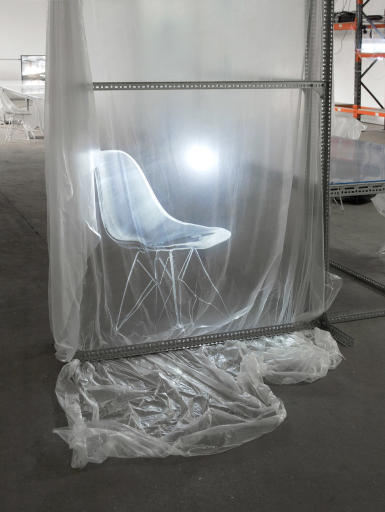 17.-YP_user,space_communal-table-for-user,-space_detail_chair-disolve_video-&-projection_Copyright-the-artist-and-mother's-tankstation
