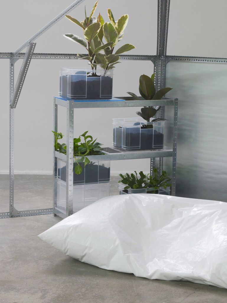 20.-YP_user,space_half-relief-shelter-zone-for-user,-space-hexayurt-configuration_detail_plants-&-cushion_Copyright-the-artist-and-mother's-tankstation