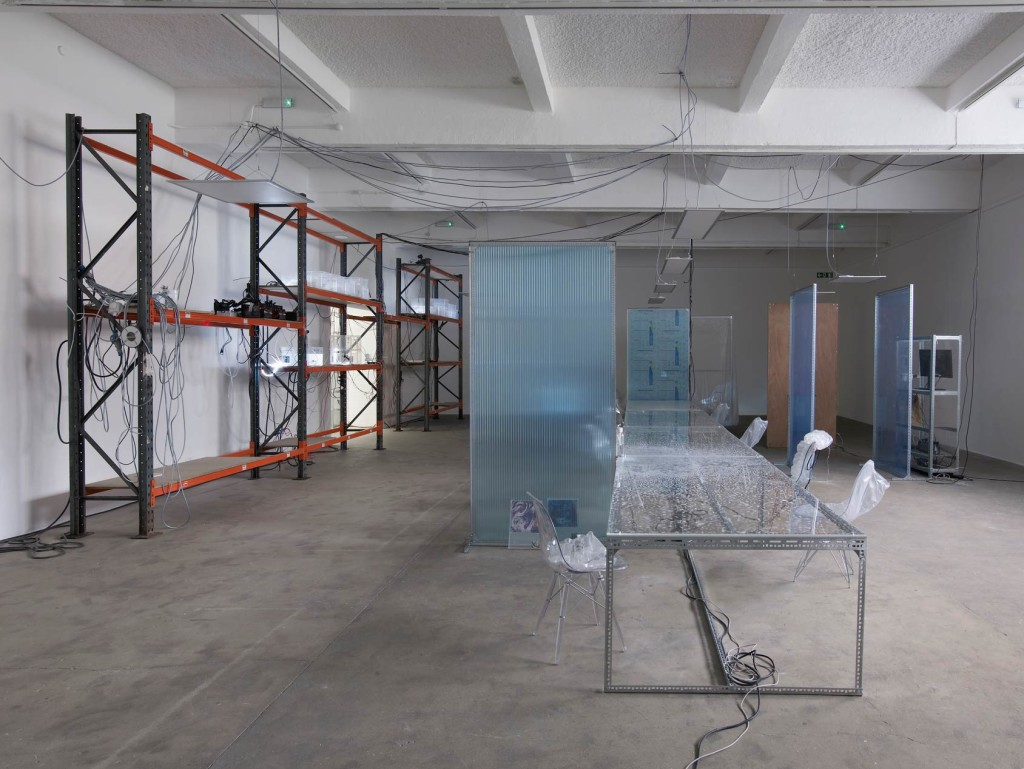 26.-YP_user,space_Installation-view-Racking, Table_lights-off_Copyright-the-artist-and-mother's-tankstation