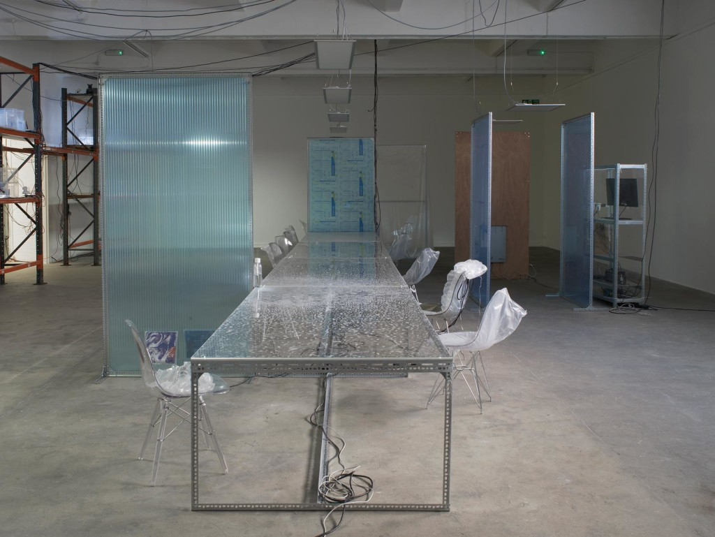 8.-YP_user,space_communal-table-for-user,-space_Front-view_lights-off_Copyright-the-artist-and-mother's-tankstation