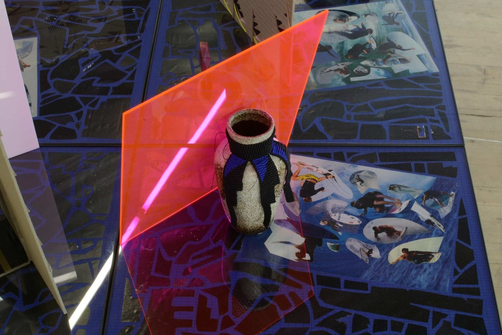 LISTE-2015_AML_Installation-view-(33)_detail-of-collage-table