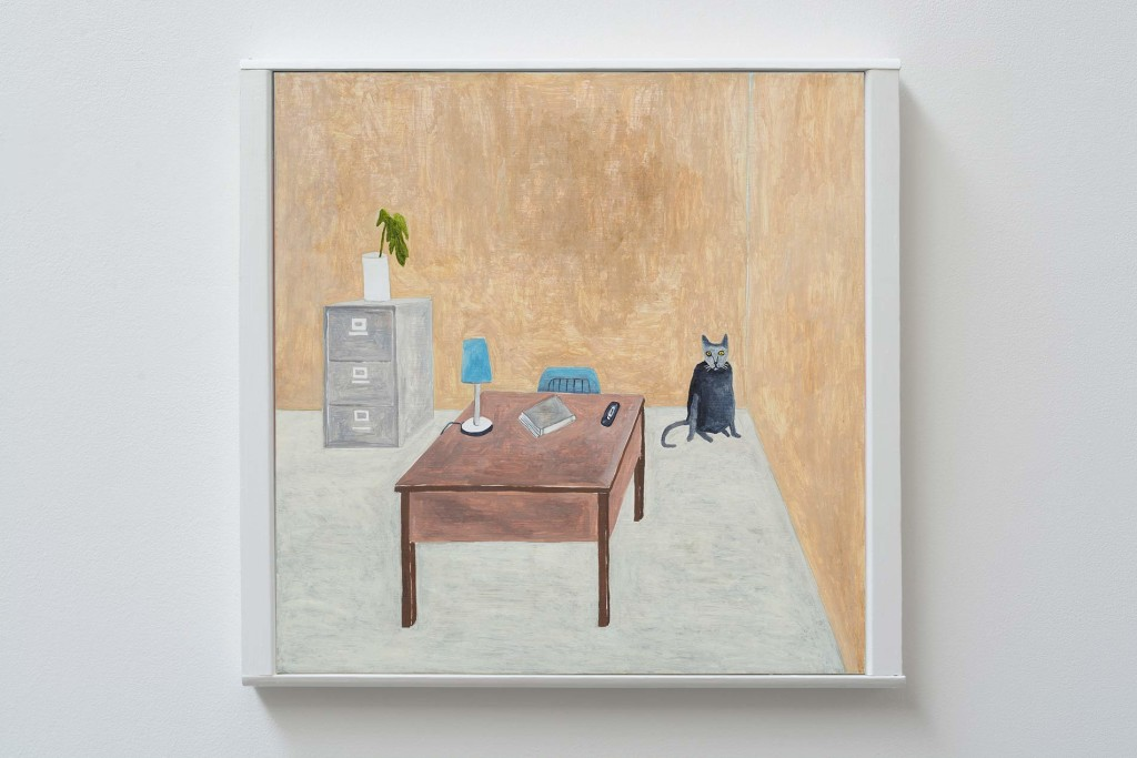 Office-Cat_framed