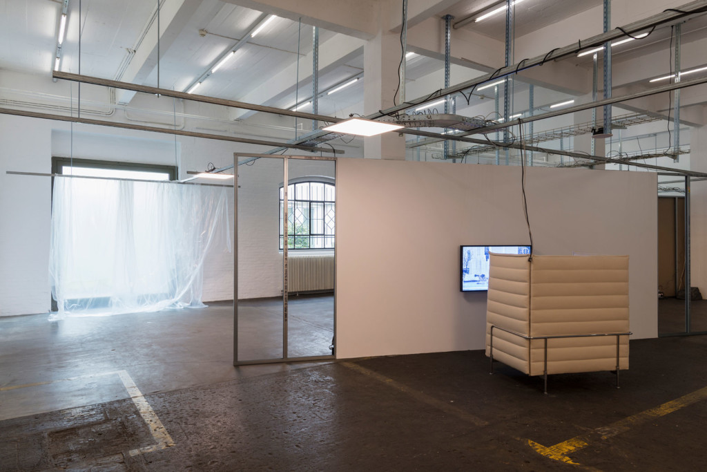 2.Yuri Pattison_Trusted Traveller_Installation view_Vitra Alcove & citizens of nowhere(surveys 03.17)_Copyright the artist and mother's tankstation limited