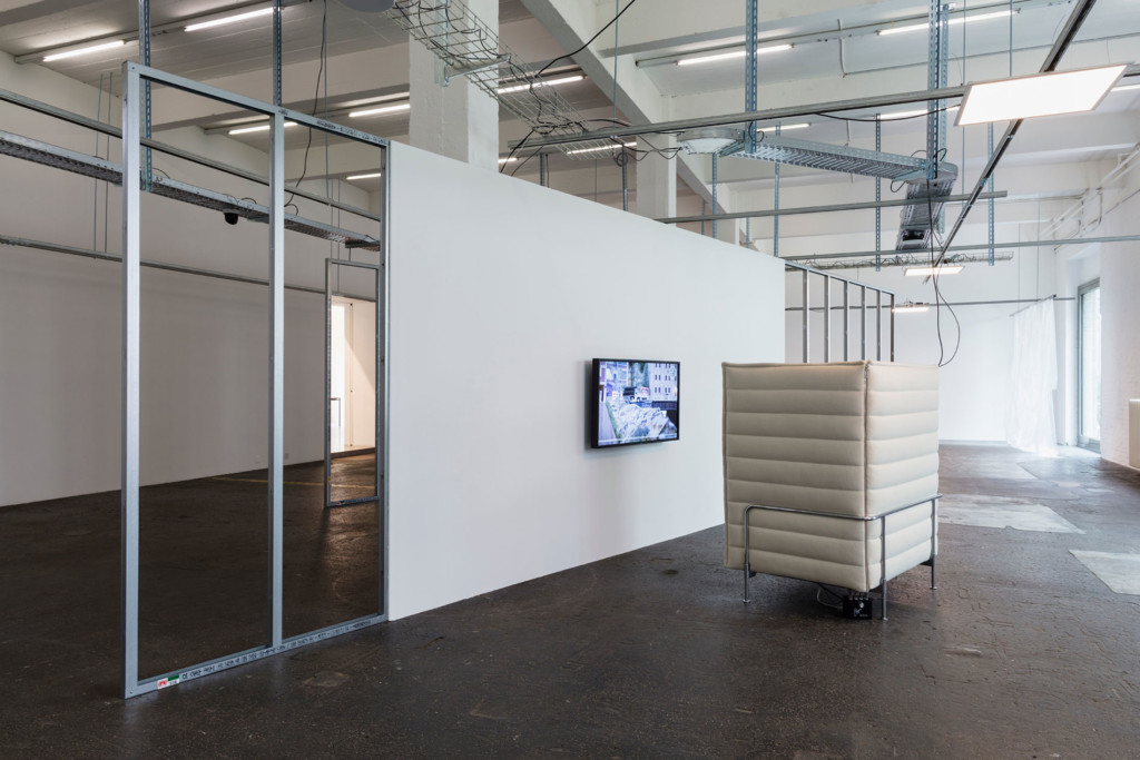 9.Yuri Pattison_Trusted Traveller_Installation-view_Vitra-Alcove-(some-border-thoughts)-&-citizens-of-nowhere-(surveys-05.17)_Copyright the artist and mother's tankstation limited