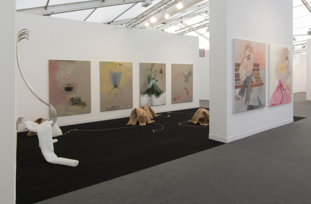 3.Frieze London 2017_Installation booth view_from left
