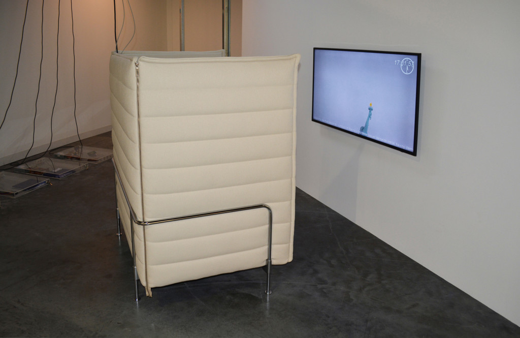 3a.-Yuri-Pattison_Art Basel Miami Beach 2017_Installation view_Vitra-Alcove-&-citizens-of-nowhere_Copyright the artist and mother's tankstation Dublin : London