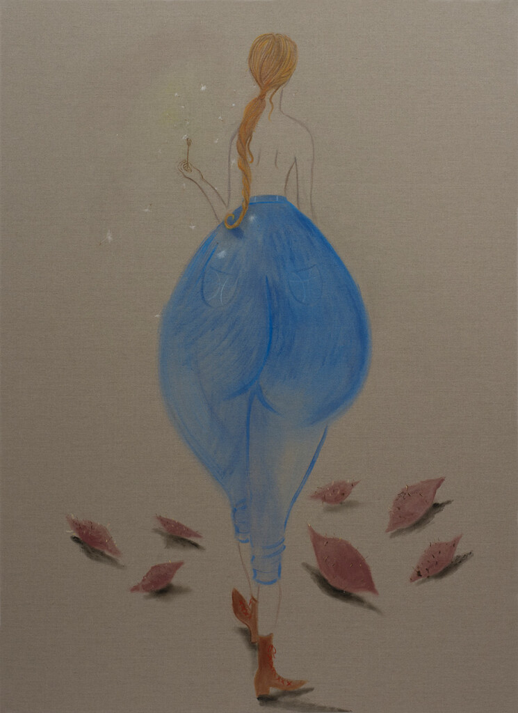 10.--Maria-Farrar_Miss-Sweet-Potato_2019_Oil-on-linen_180-x-150-cm_Copyright-the-artist-and-mother's-tankstation-limited