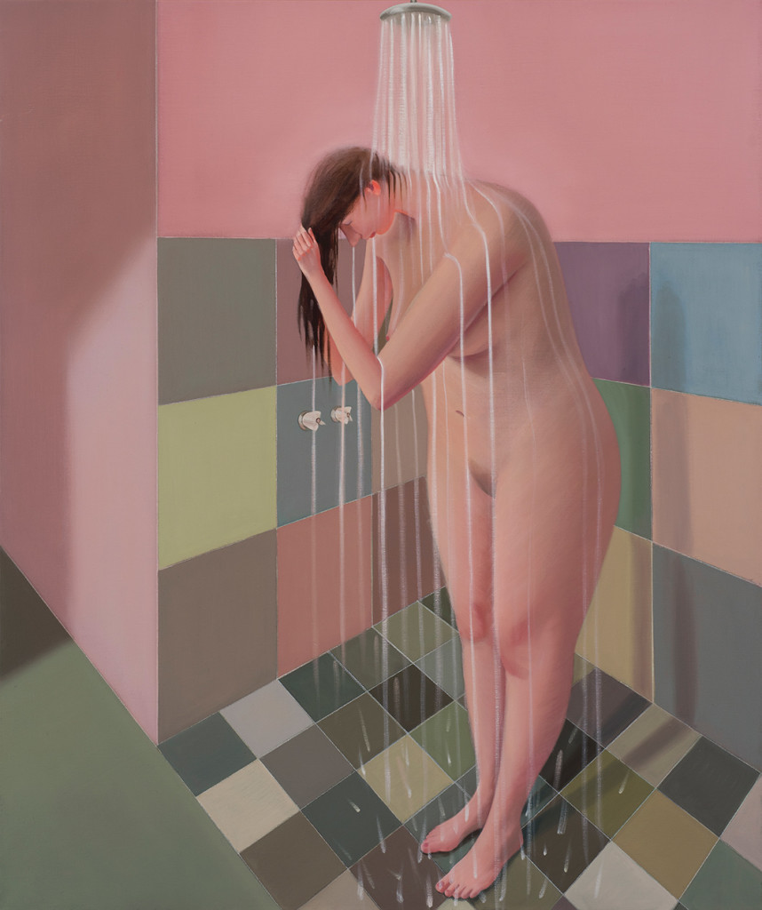 5.-Prudence-Flint_Shower-#2_2017_Oil-on-linen_122-x-102-cm_Copyright-the-artist-and-mother's-tankstation-limited