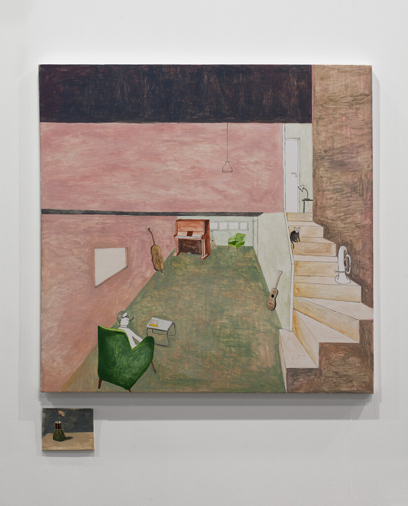 8.-Art Basel Hong Kong_2019_Installation-view_Noel-McKenna_Man-with-pipe,-Vase-A_Copyright the artist and mother's tankstation limited
