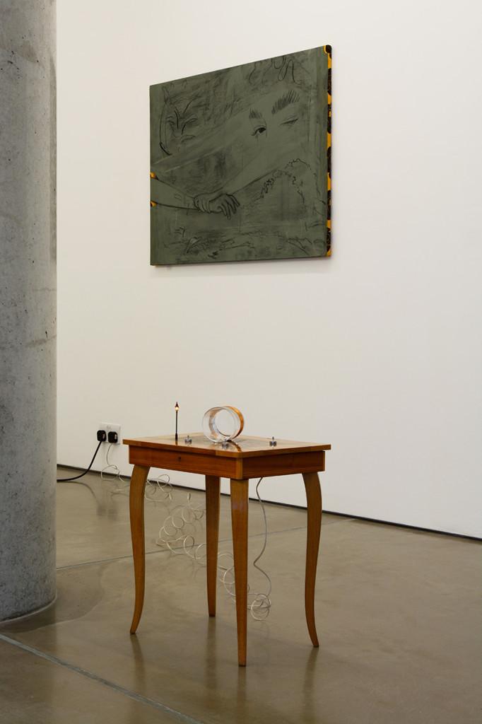 9.-Condo-London-2020_Installation-view_Yuko-Mohri,-Zeinab-Saleh_Copyright-the-artists-and-mother's-tankstation-limited