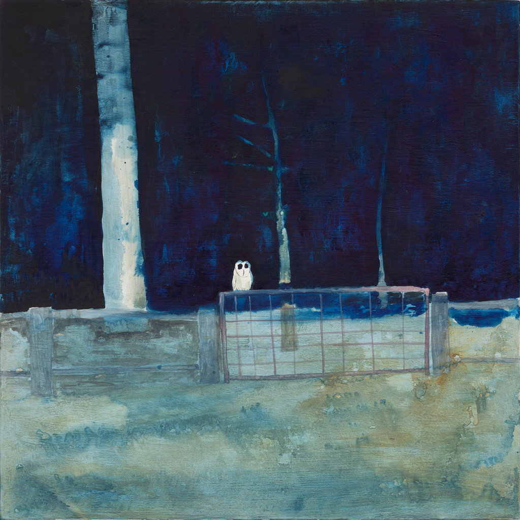 22.-Noel-McKenna_Owl_2019_Oil-on-plywood_42-x-44-cm_Copyright-the-artist-and-mother's-tankstation-limtied