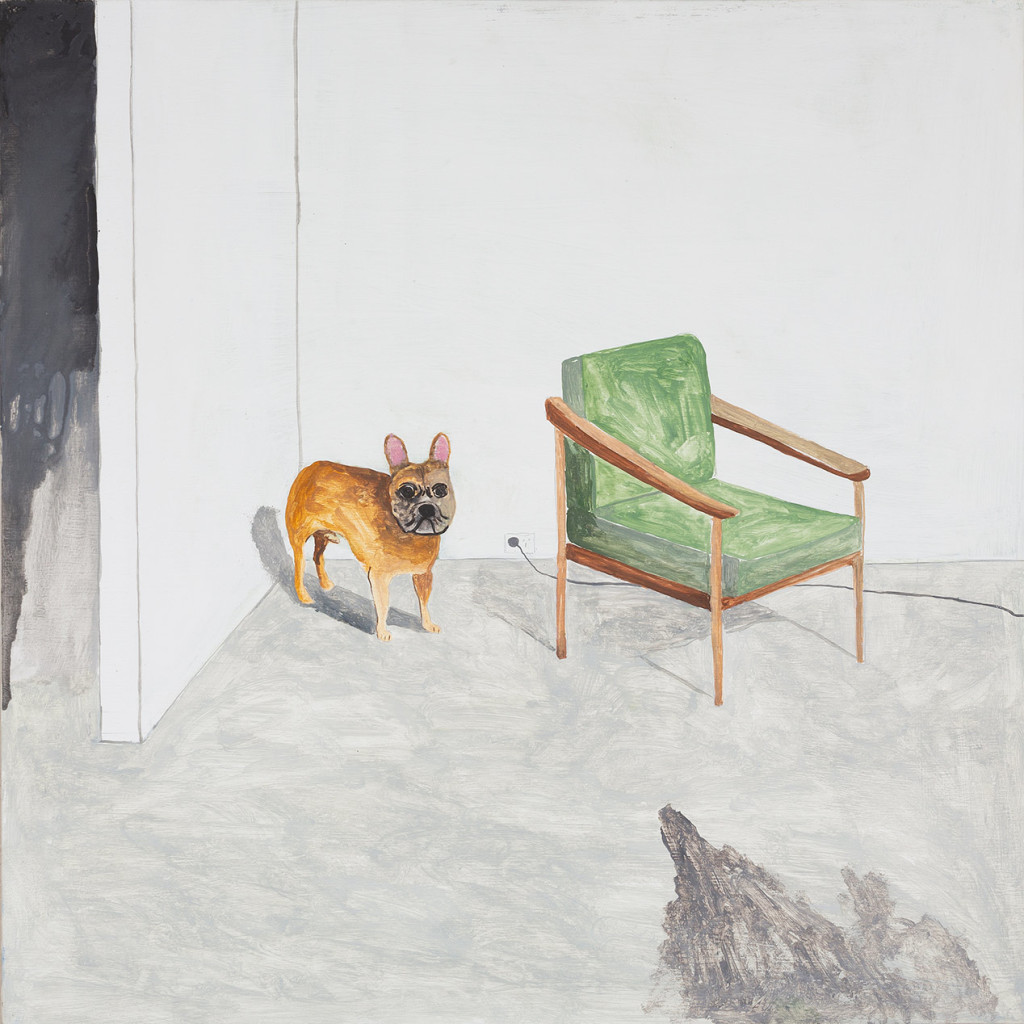 23.-Noel-McKenna_Dog-in-Corner_2019_Oil-on-plywood_42-x-44-cm_Copyright-the-artist-and-mother's-tankstation-limited