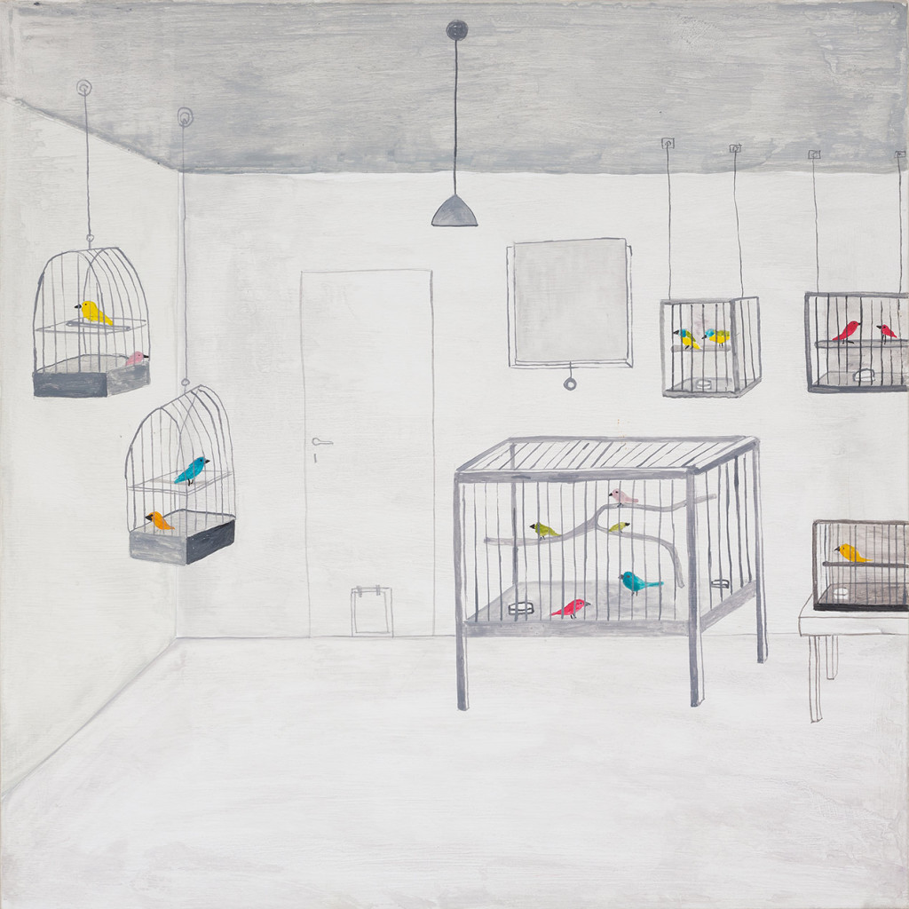 7.-Noel-McKenna_Room-with-Birds_2019_Oil-on-plywood_42-x-44-cm_Copyright-the-artist-and-mother's-tankstation-limited