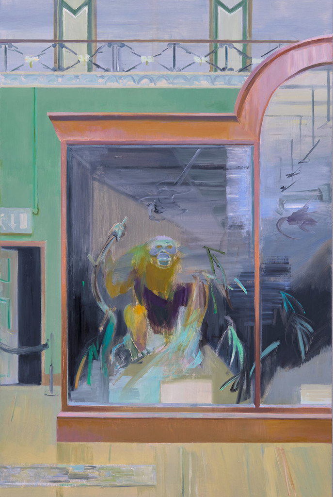 5.-Mairead O'hEocha_Orangutang,-Natural-History-Museum,-Dublin_2020_Oil on canvas_150 x 100 cm_Copyright the artist and mother's tankstation limited