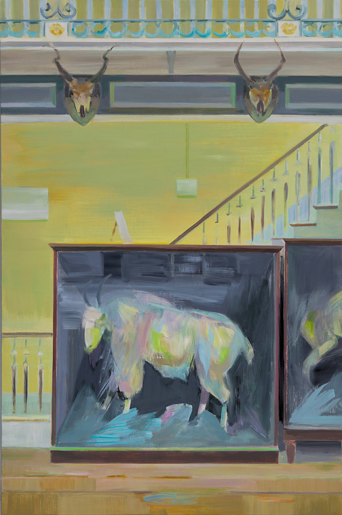 8.-Mairead O'hEocha_Mountain-Goat,-Natural-History-Museum,-Dublin_Oil on canvas_150 x 100 cm_Copyright the artist and mother's tankstation limited