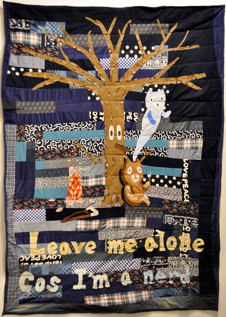 2.-Atsushi-Kaga_Leave-me-alone_2012_Fabric,-thread,-glue_210-x-150-cm_Copyright-the-artist-and-mother's-tankstation-limited