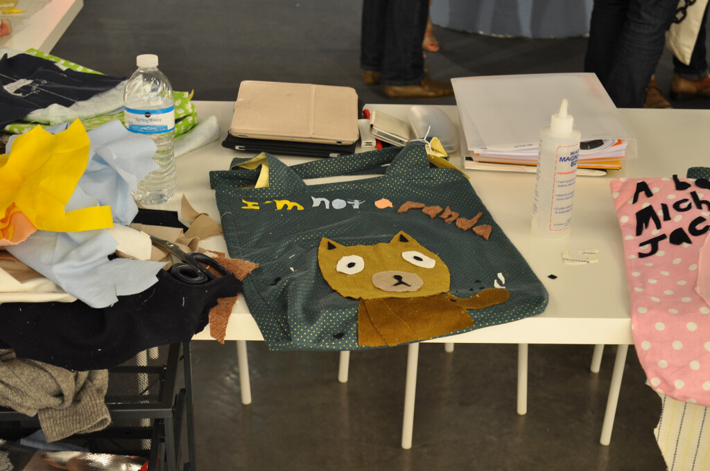 6.-Atsushi-Kaga_The-Nerd-Bag-Factory_ABMB-2012_Installation-view_6_Copyright-the-artist-and-mother's-tankstation-limited