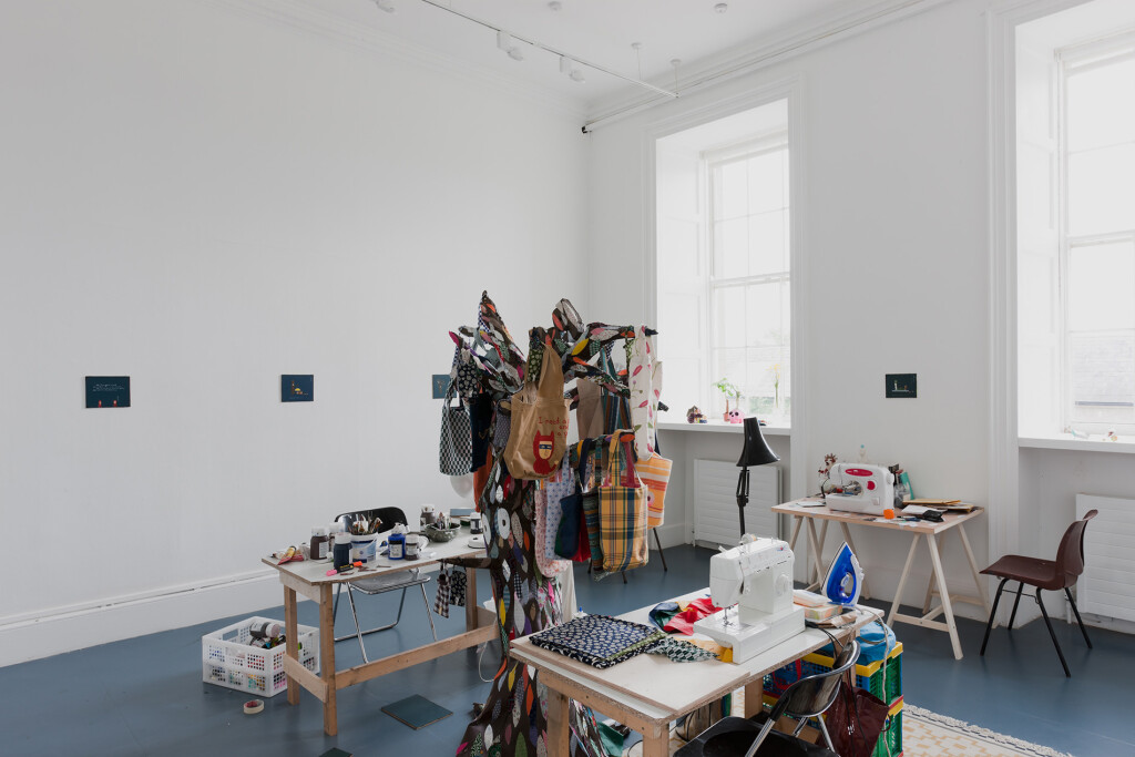 5.-Atsushi-Kaga_Nerd-Bag_Installation-view_The-Process-Room_Irish-Musem-of-Modern-Art,-Dublin_Copyright-the-artist-and-mother's-tankstation-limited