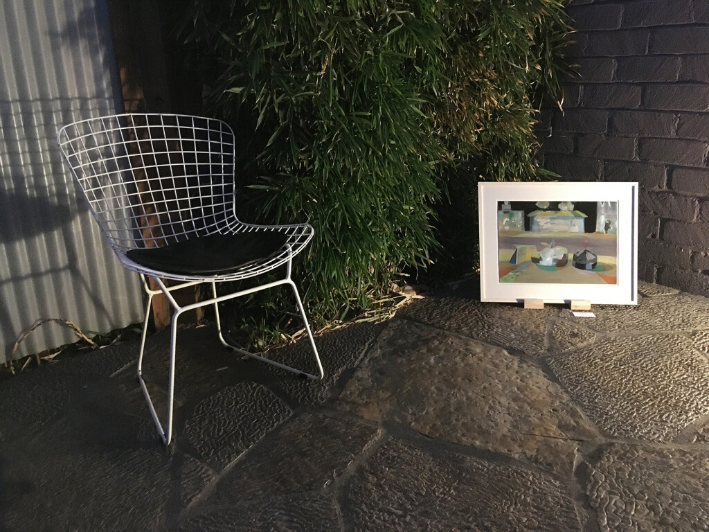 11.-Felix-LA-2020_Installation-view_Night_Mairead-O'hEocha_Bags,waiting_Copyright-the-artist-and-mother's-tankstation-limited
