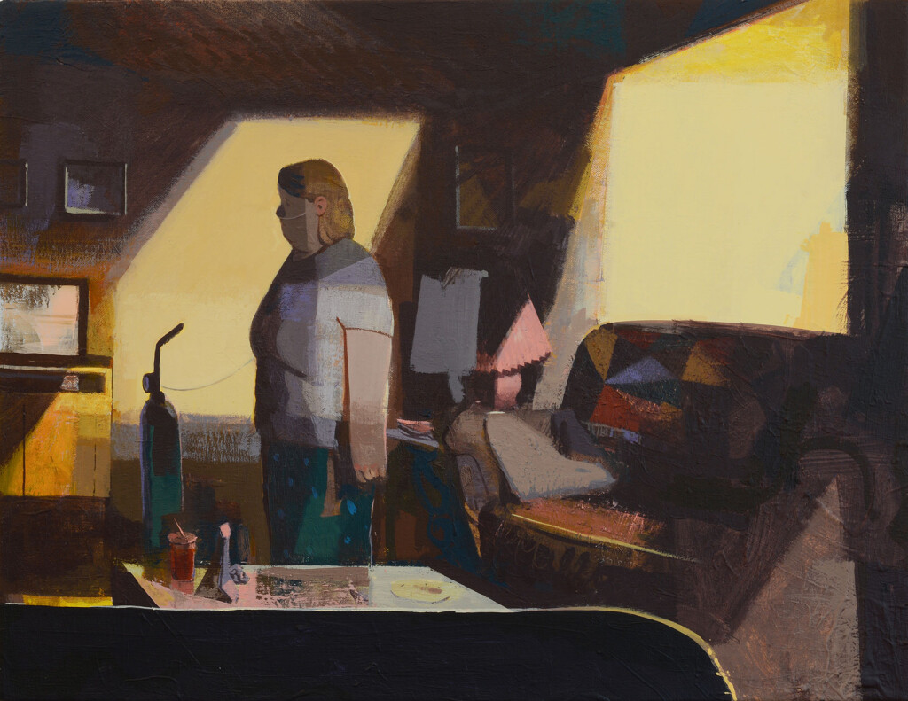 15.-Matt-Bollinger_Daytime-Soaps_2020_Flashe-and-acrylic-on-canvas_45-x-60-cm_Copyright-the-artist-and-mother's-tankstation-limited
